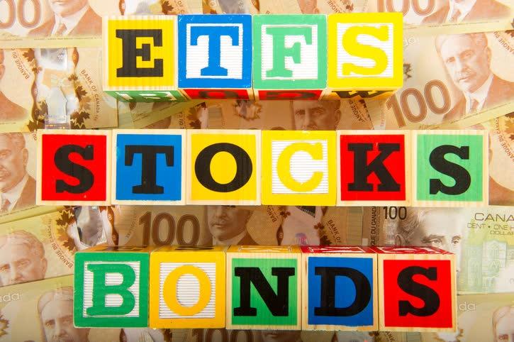 ETF, Stocks, Bonds Blocks