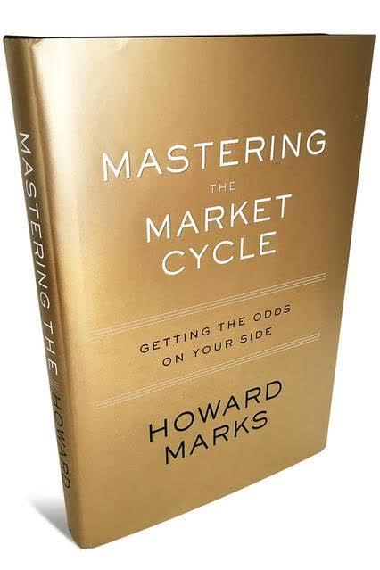 Cook Book Cover Quote : Mastering the market cycle by howard marks review